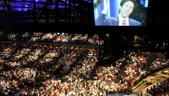 Joel Osteen Offers Prayers for Harvey Victims, But Keeps His Megachurch Closed