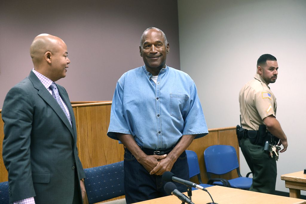 O.J. Simpson Granted Parole At Hearing