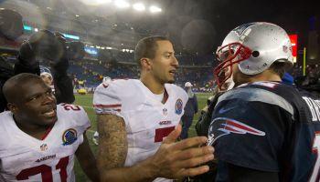 San Francisco 49ers Vs. New England Patriots At Gillette Stadium