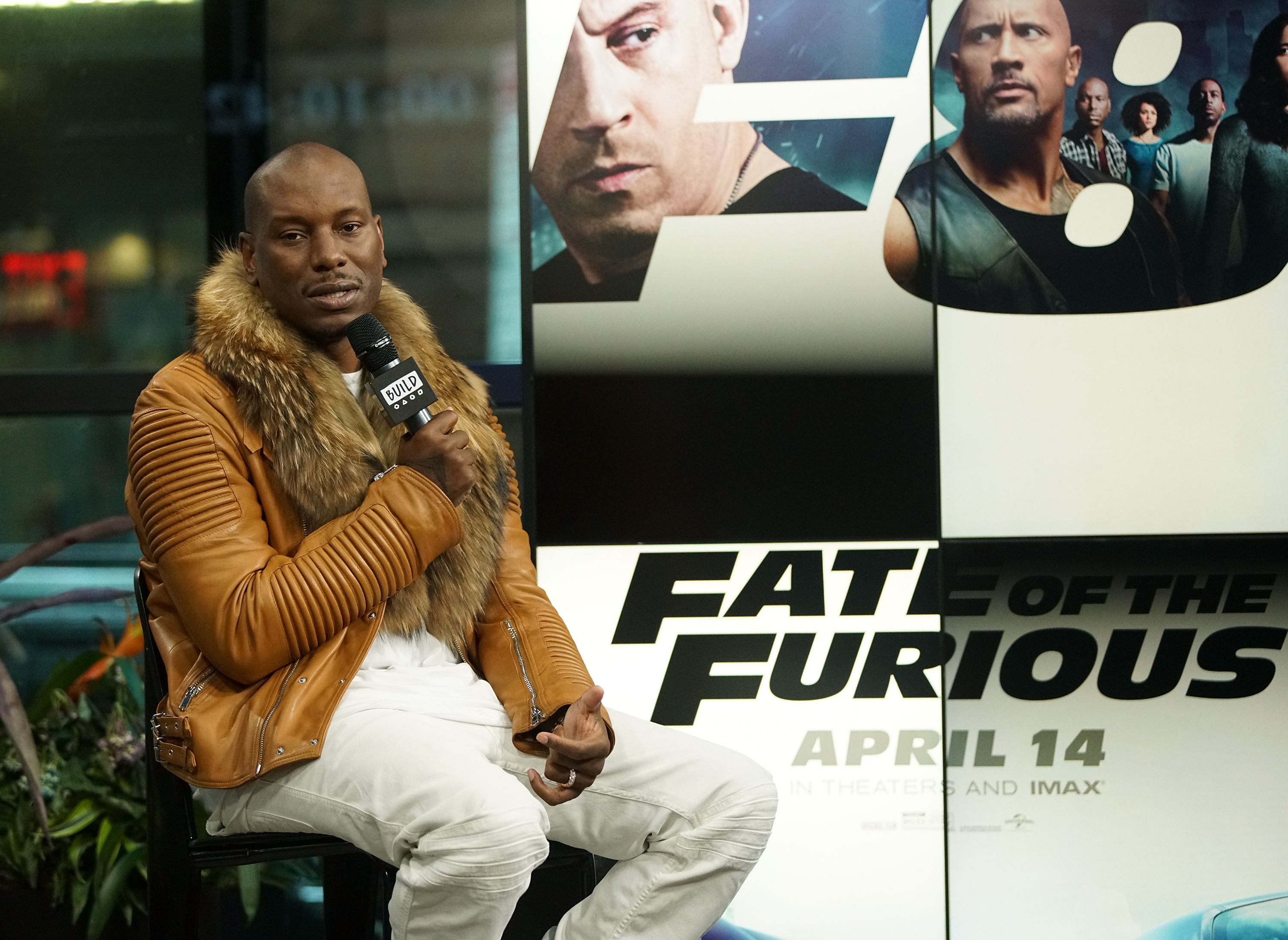 Build Series Presents Tyrese Discussing 'Fast and Furious 8'