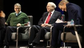 Bill Gates And Warren Buffett Speak At Columbia University