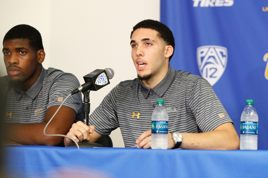 UCLA Press Conference