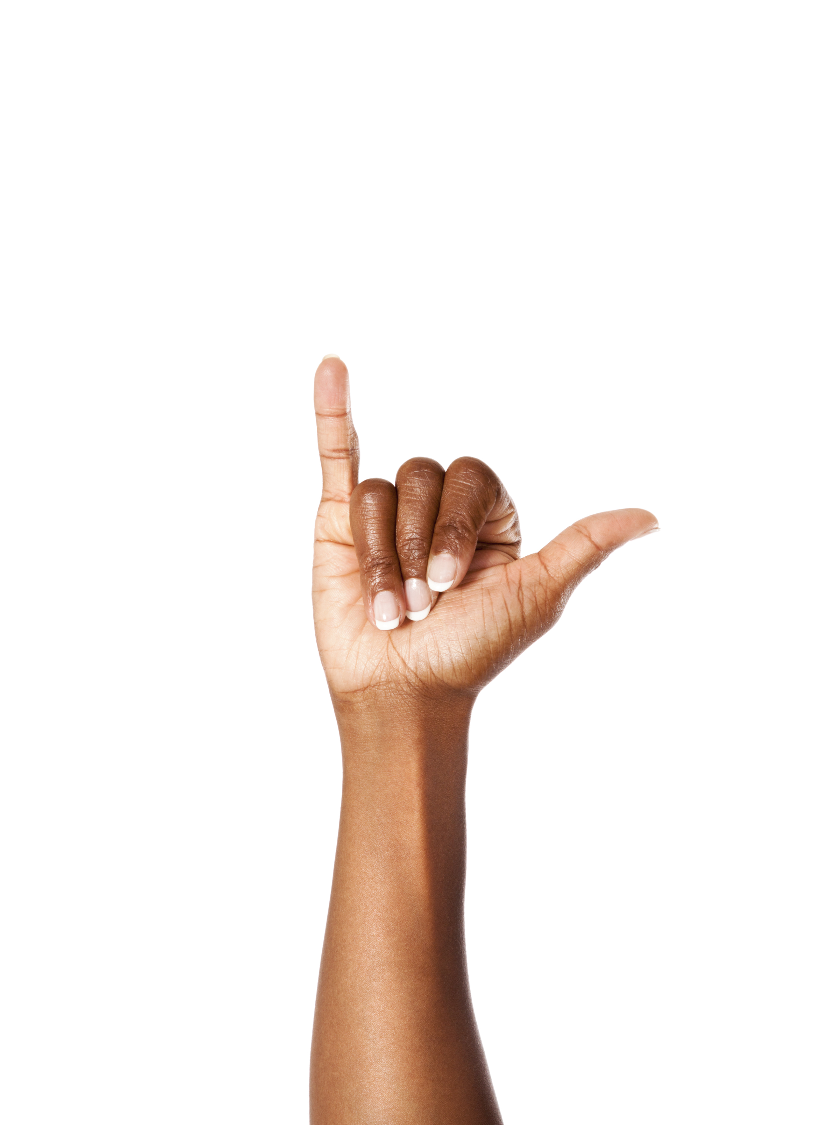 Letter Y in American Sign Language
