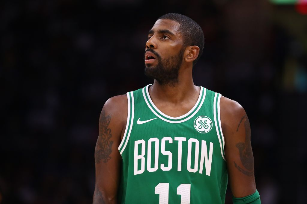 Boston Celtics Christmas Jersey.Kyrie Irving Christmas Is Not A Real Holiday 101 1 The Wiz