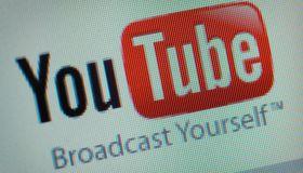YouTube webpage.