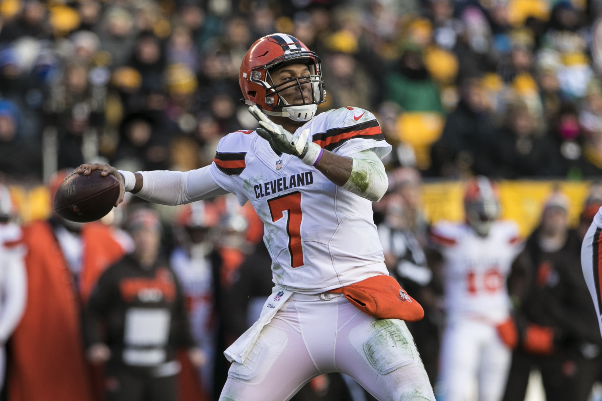 NFL: DEC 31 Browns at Steelers