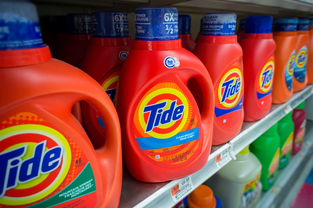 Procter & Gamble reports jump in profits