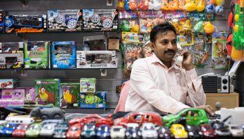 Clerk in Toy Store