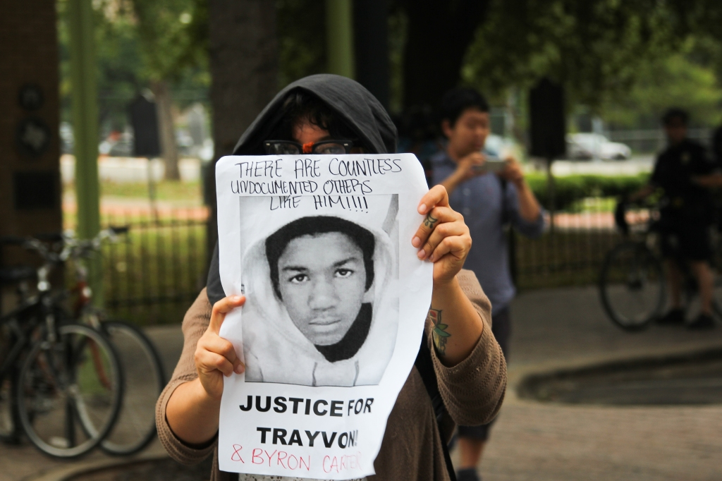 Justice for Trayvon Rally in Austin, Texas