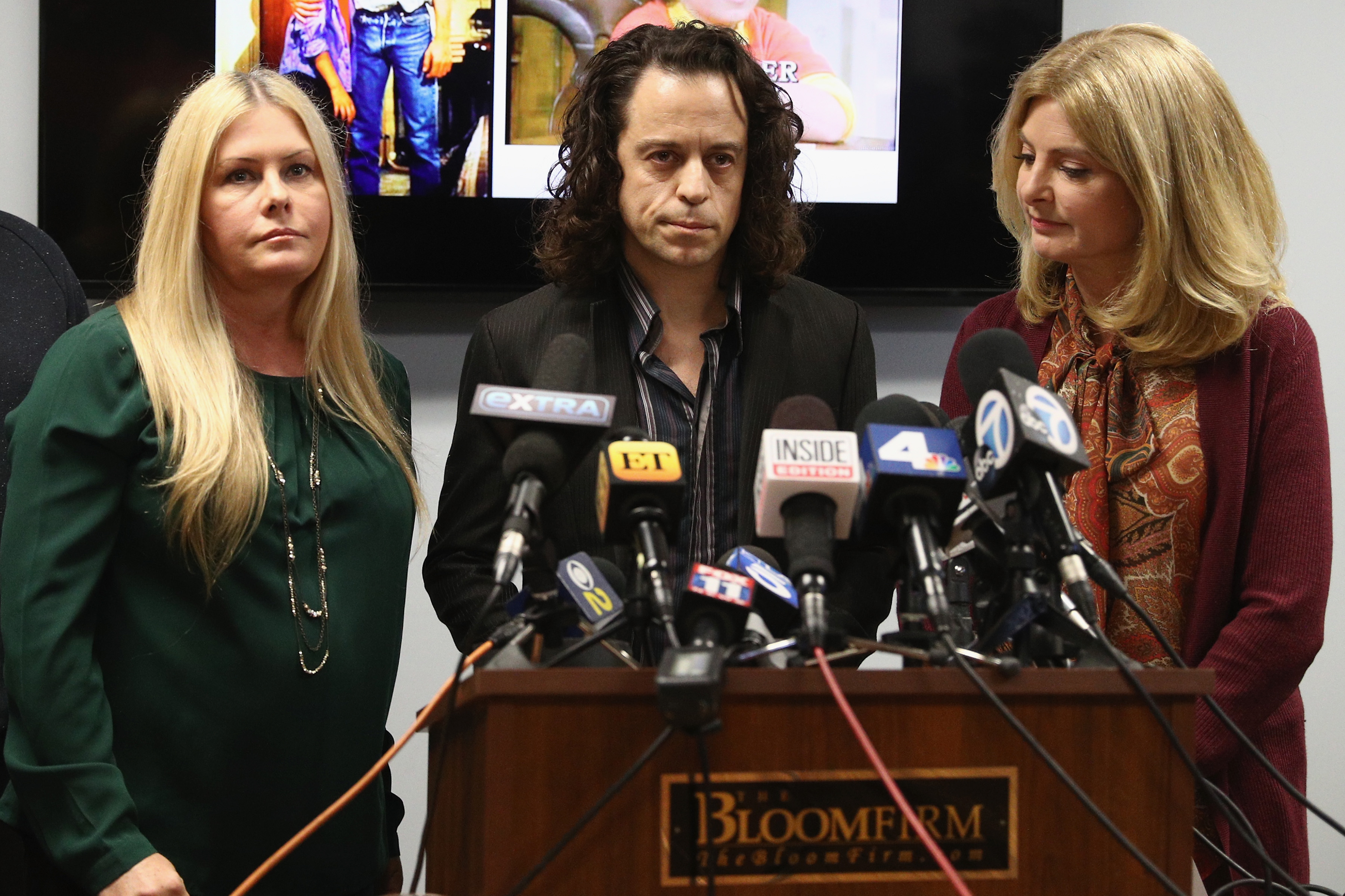 Alexander Polinsky Holds Press Conference With Attorney Lisa Bloom Regarding Sexual Harassment Allegations Against Scott Baio