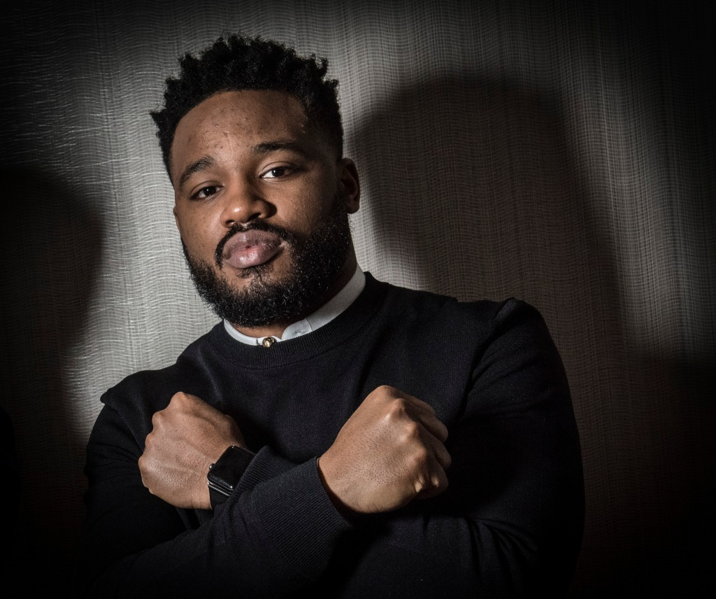Ryan Coogler, director of the hit movie 'Black Panther', in Washington, DC.