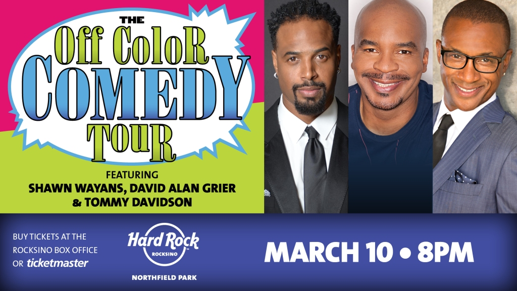 The Off Color Comedy Tour featuring Shawn Wayans, David Alan Grier & Tommy Davidson