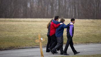 Funeral Held For Victim On Chardon, Ohio School Shooting