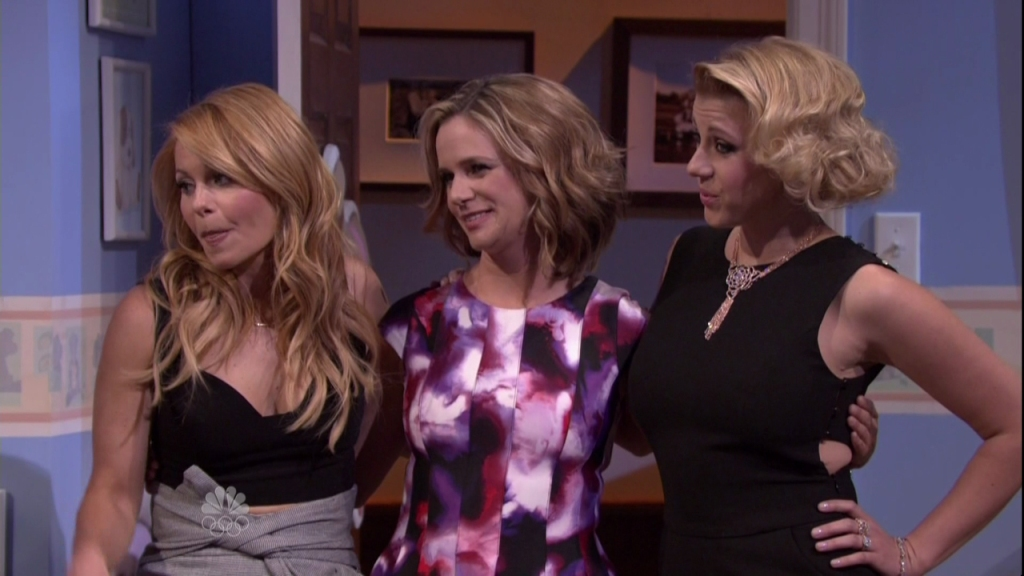 The Cast of Fuller House during an appearance on NBC's 'The Tonight Show Starring Jimmy Fallon.'