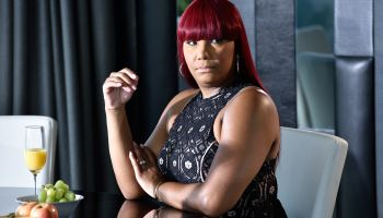 Traci Braxton Video Shoot For 'Last Call'