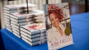 Kim Fields Book Signing