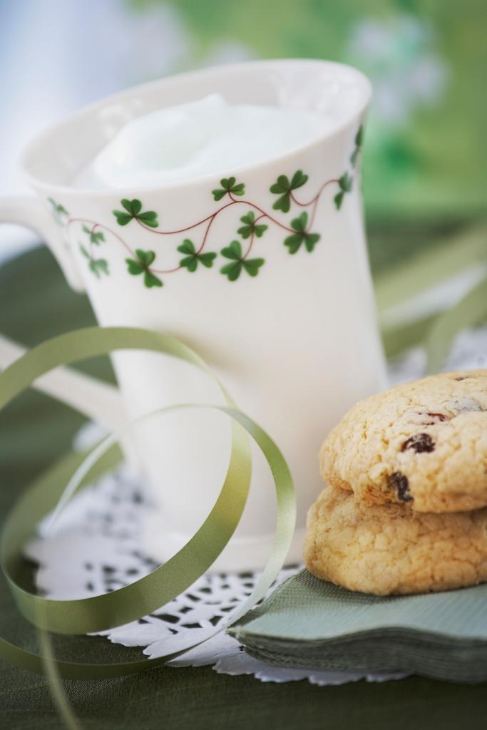 St. Patrick's Day Milk Shake