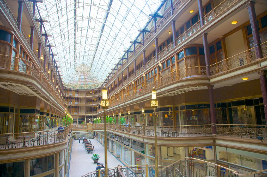 Victorian arcade in downtown Cleveland