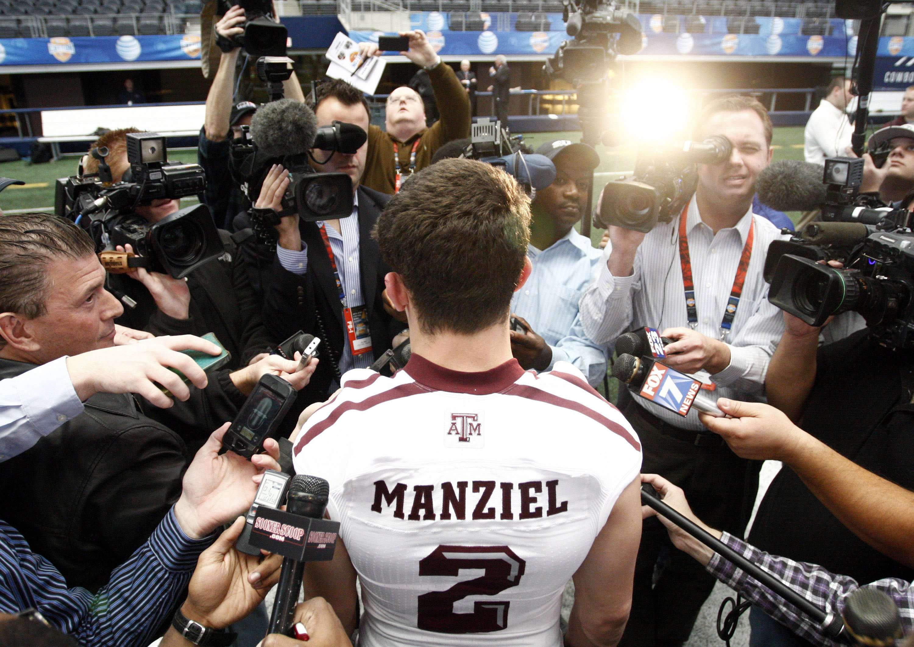 Mac Engel: Texas A&M and Texas Tech fell for guys propped up by Johnny Football