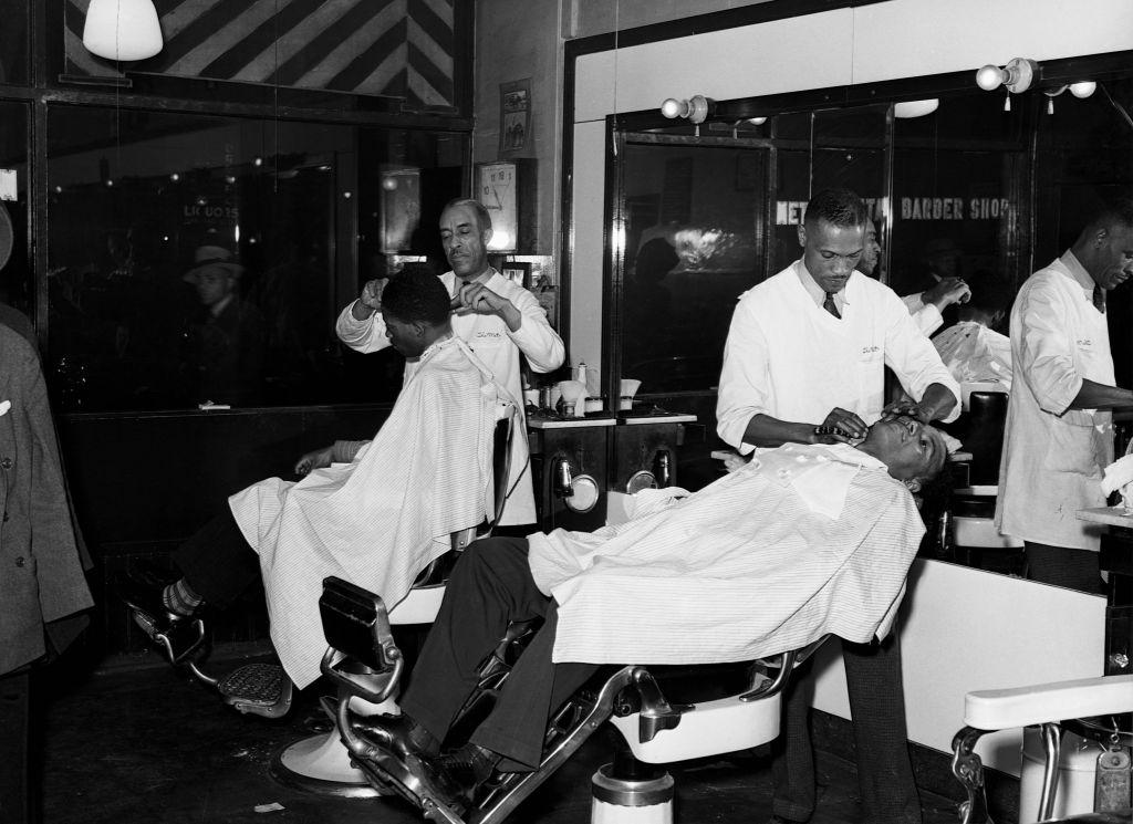 Negro Barbershop