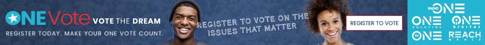 One Vote 2018 Banner