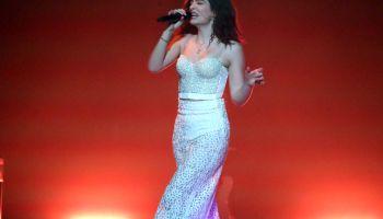 Lorde In Concert At TD Garden