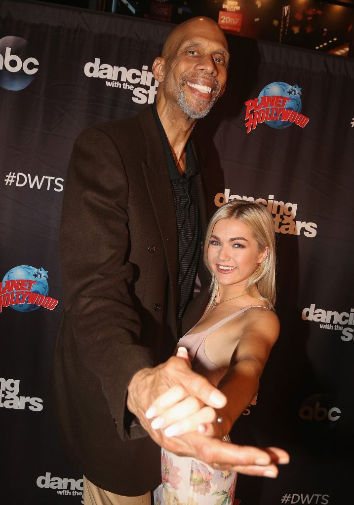 'Dancing With The Stars' Cast Visits Planet Hollywood