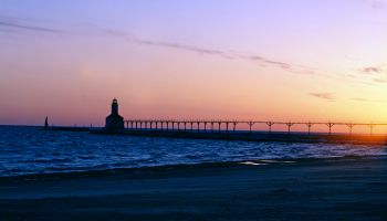 East Pierhead Lighthouse, Cleveland, Ohio