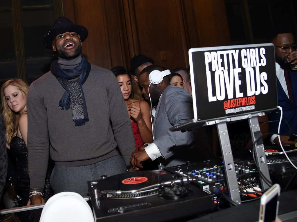 GQ and LeBron James Celebrate All-Star Style - Inside