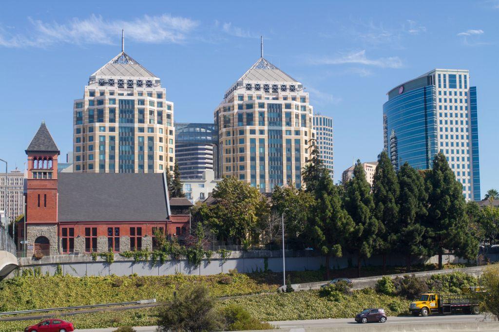 USA, California, Oakland, Downtown