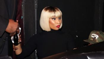 Nicki Minaj Hosts The Highline Ballroom