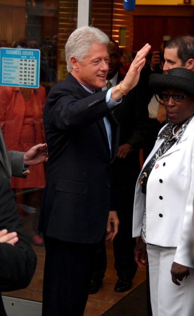Bill Clinton Book Signing in Harlem