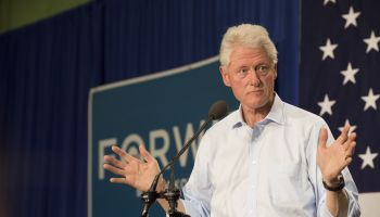President Bill Clinton Rally for Barack Obama