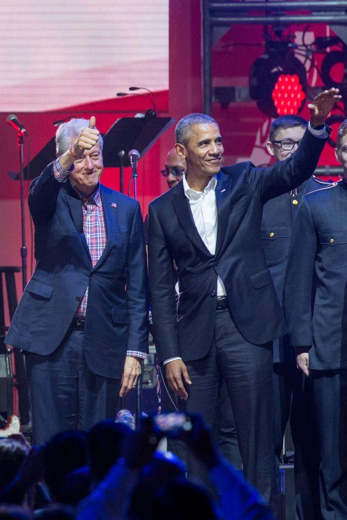US-WEATHER-HURRICANE-POLITICS-MUSIC