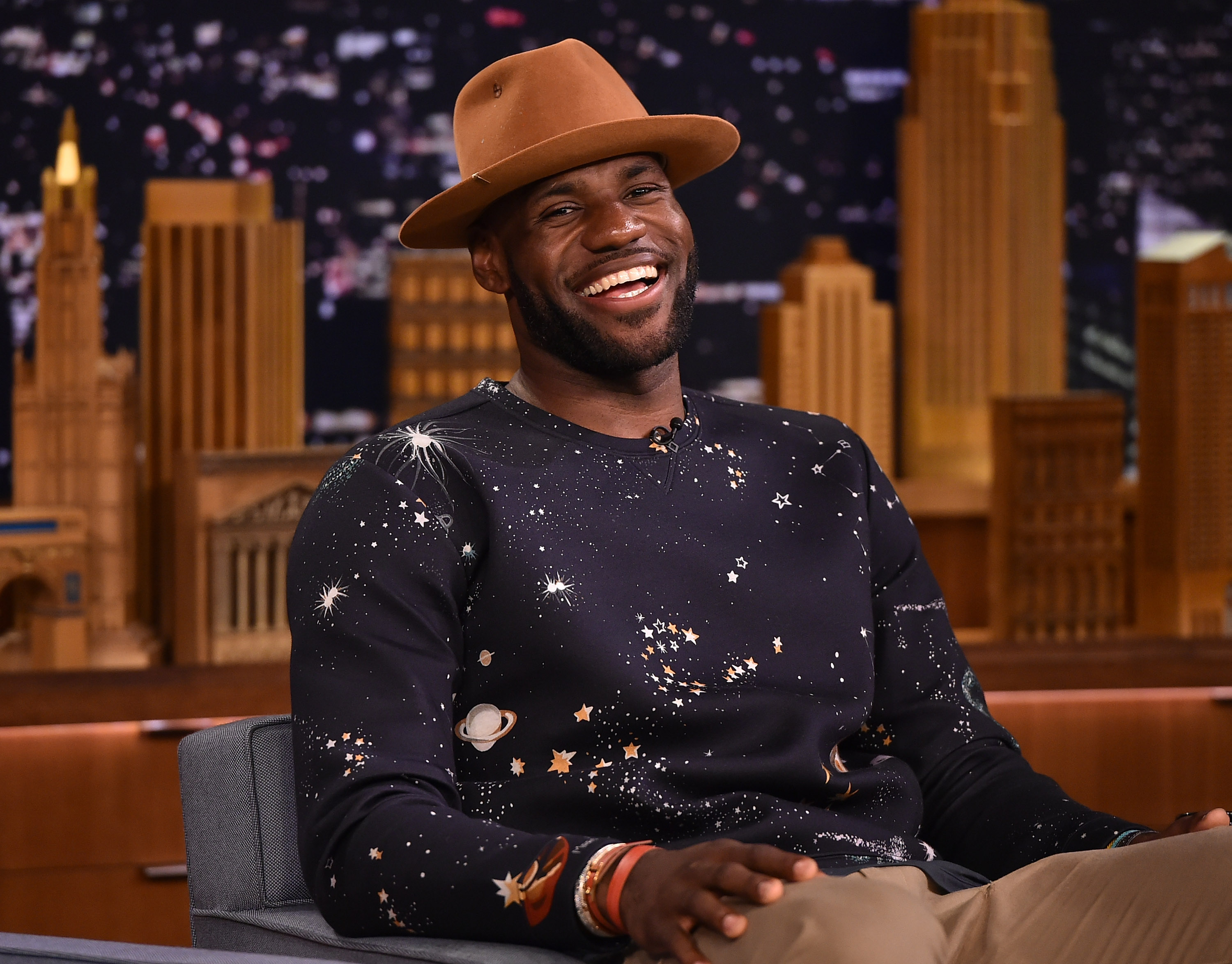 LeBron James Visits 'The Tonight Show Starring Jimmy Fallon'