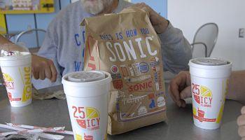 Sonic drive food