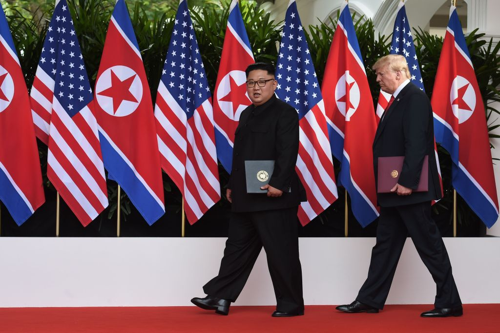 TOPSHOT-SINGAPORE-US-NKOREA-DIPLOMACY-SUMMIT