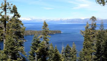 General view of Lake Tahoe