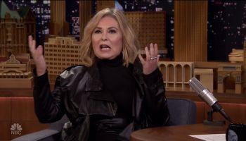 Roseanne Barr during an appearance on NBC's 'The Tonight Show Starring Jimmy Fallon.'