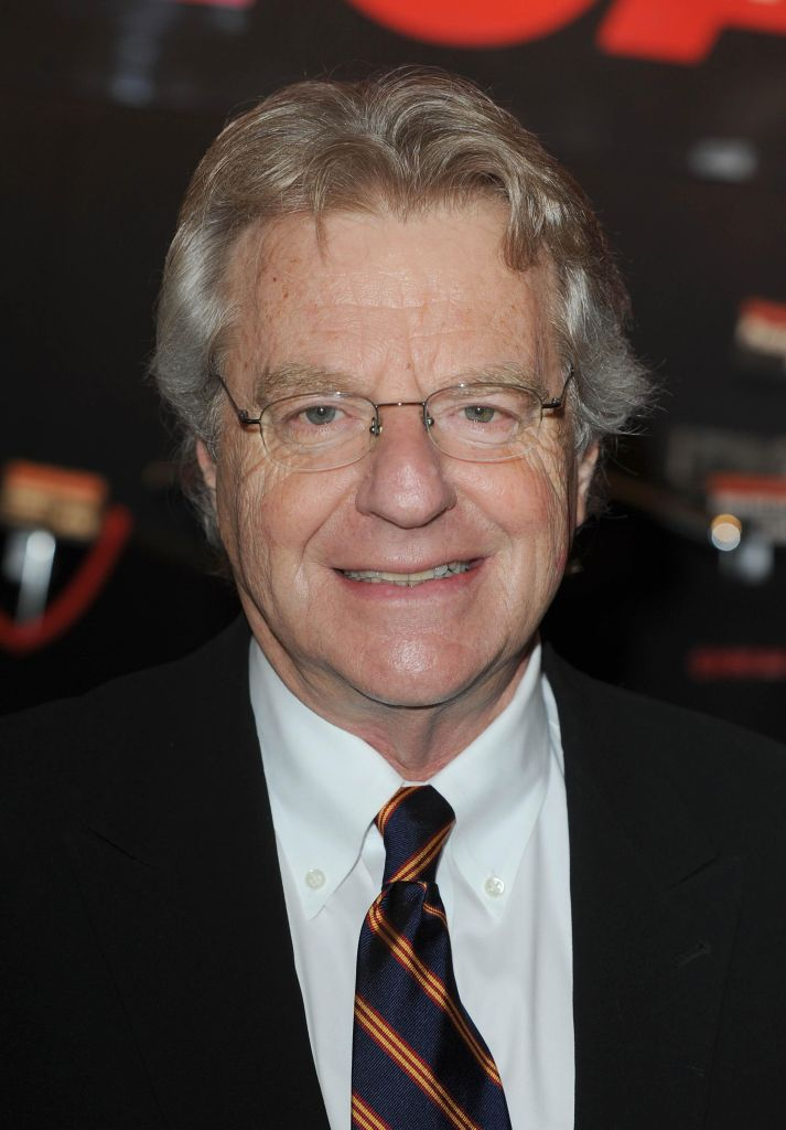 Jerry Springer Chicago Photocall - London
