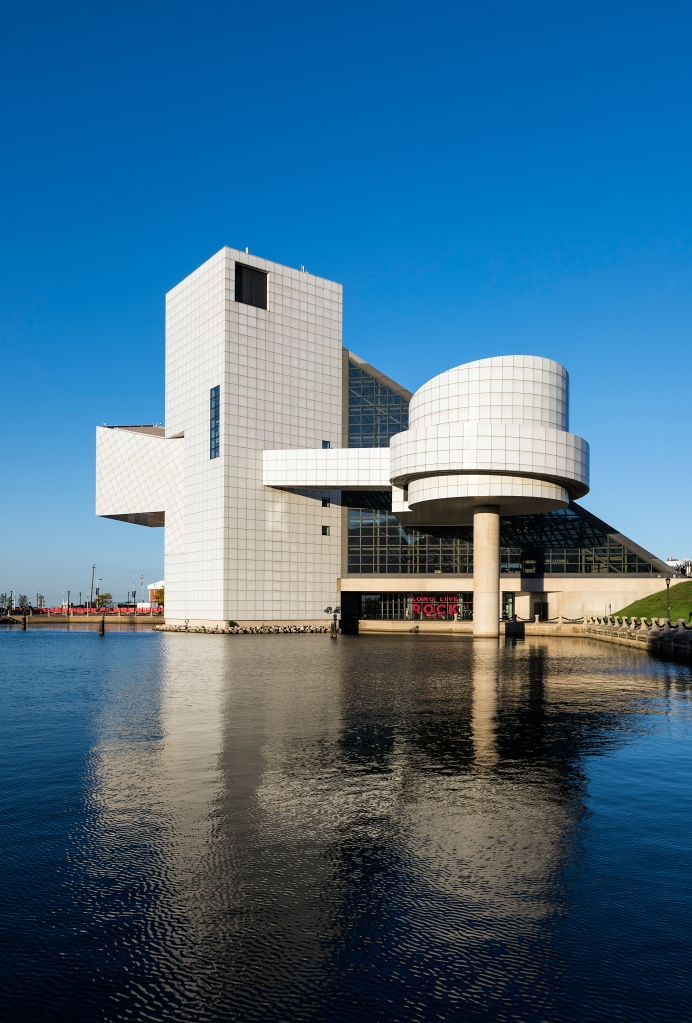 Rock and Roll Hall of Fame, Cleveland, Ohio, USA'n