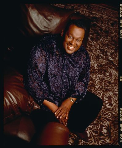 Singer Luther Vandross