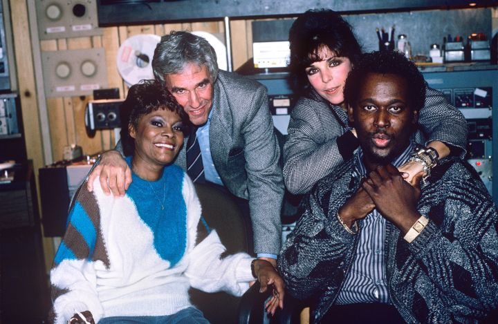 Dionne Warwick Burt Bacharach Carole Bayer Sager And Luther Vandross