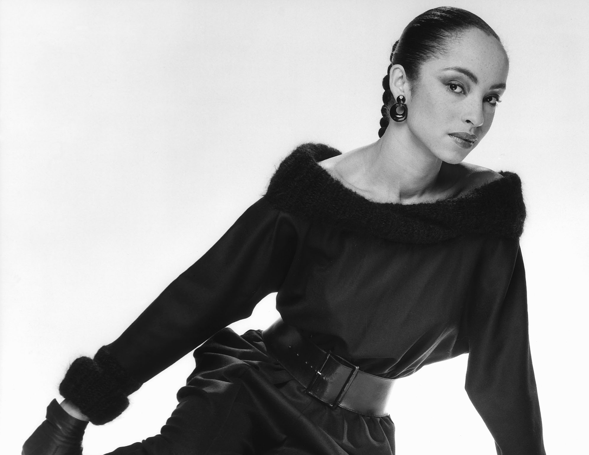 British singer songwriter Sade Adu, lead singer of the