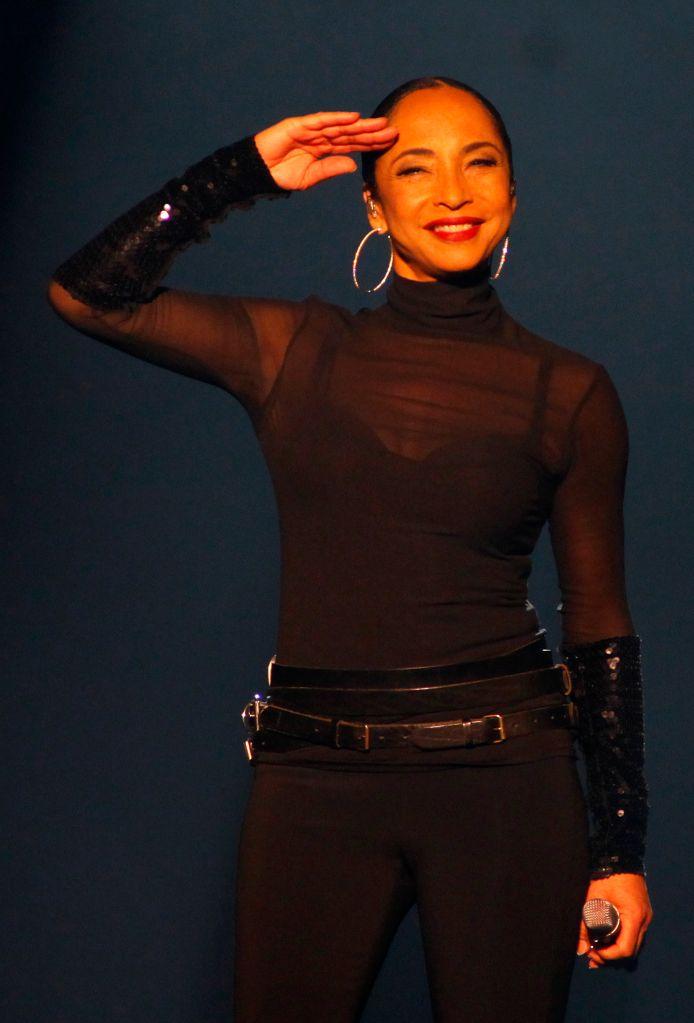 Sade Performs At Belgrade Arena