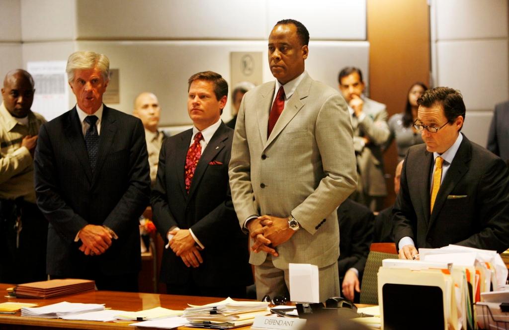DR CONRAD MURRAY ARRAIGNED IN LOS ANGELES