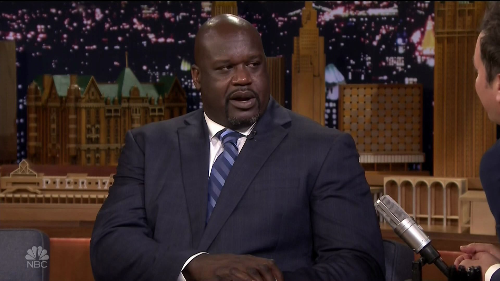 Shaquille O'Neal during an appearance on NBC's 'The Tonight Show Starring Jimmy Fallon.'