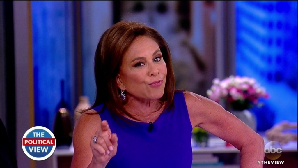 Jeanine Pirro during an appearance on ABC's 'The View.'