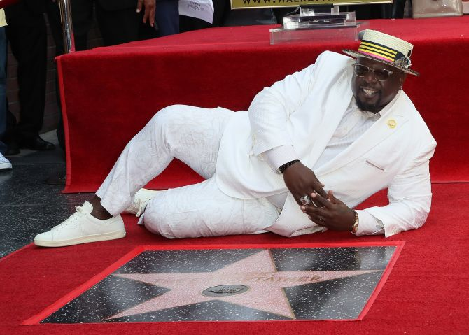 Cedric The Entertainer Honored With Star On The Hollywood Walk Of Fame