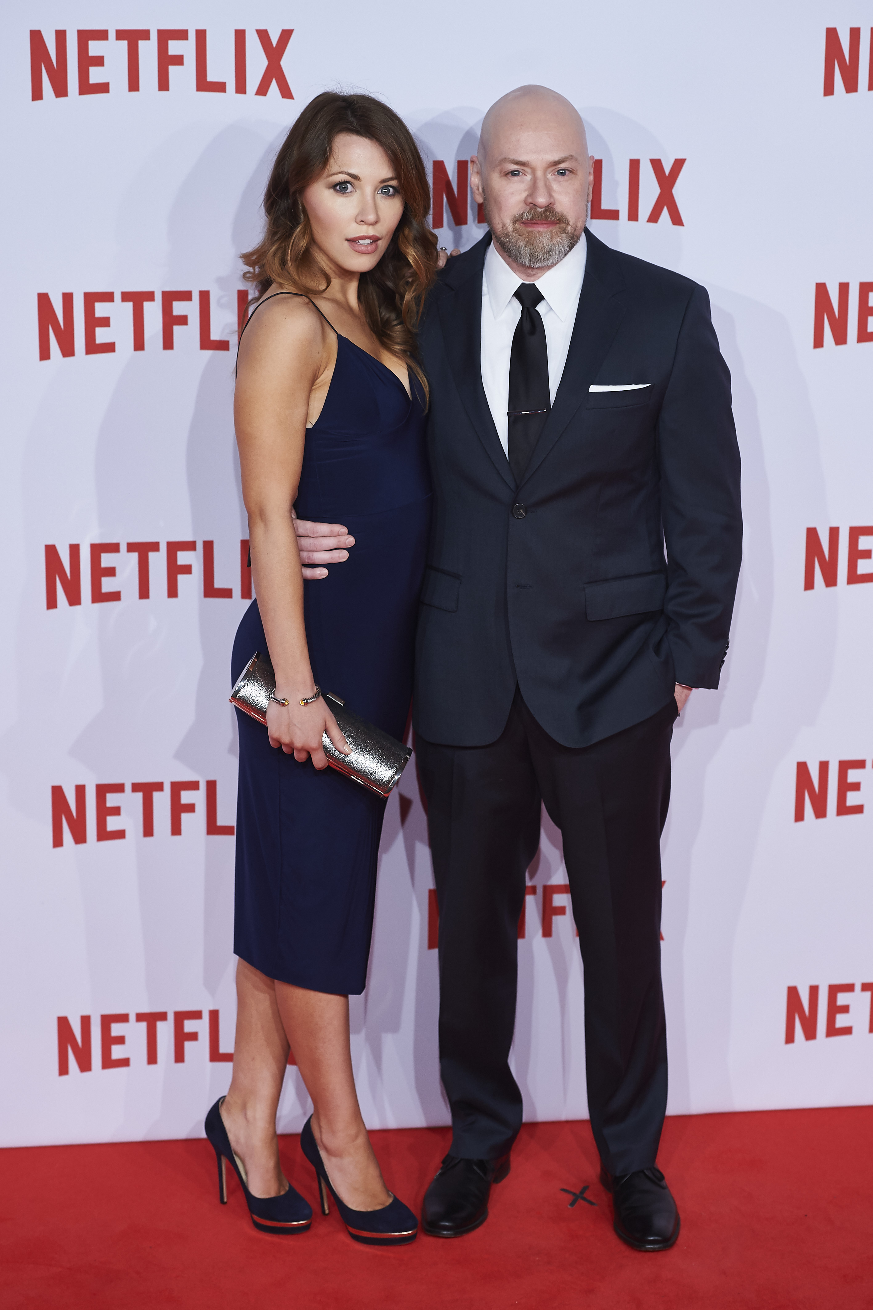 Netflix Spain launch press conference - Arrivals